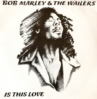"Bob Marley & The Wailers ‎- Is This Love (7"") (VG/VG)"